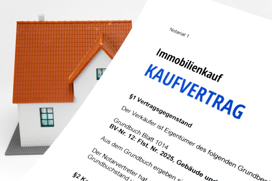 Der Notar beim Verkauf von Haus, Wohnung und Grundstück-Immoblau24 ...